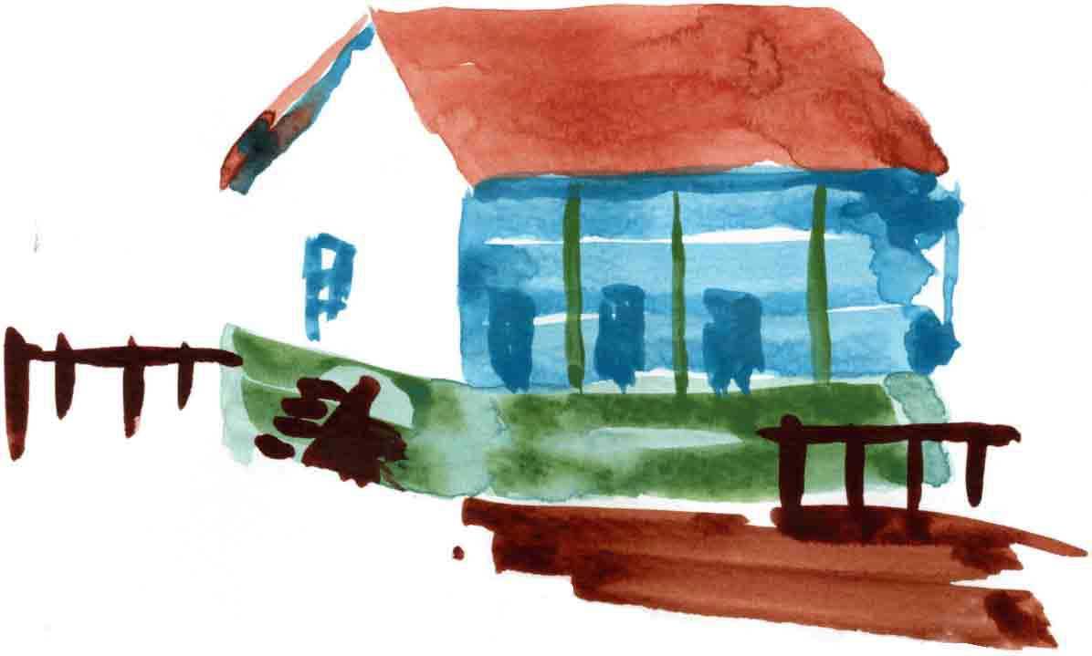 家の水彩画(正式版)