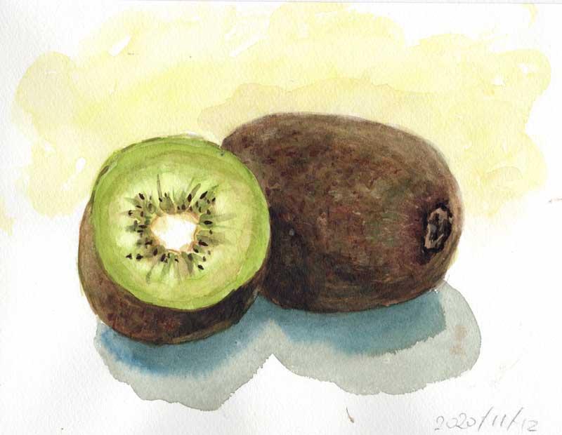 キウイフルーツ(1個と半分)