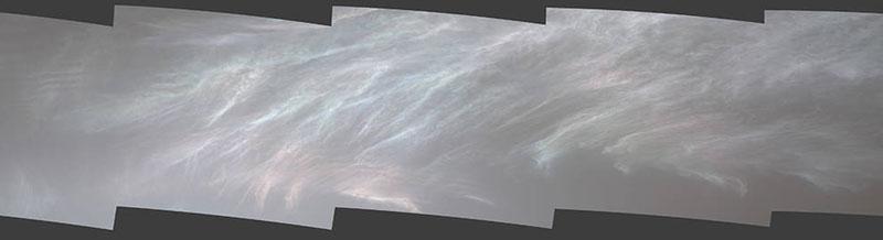火星の真珠母雲