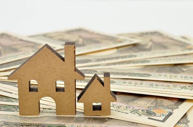 お札と住宅