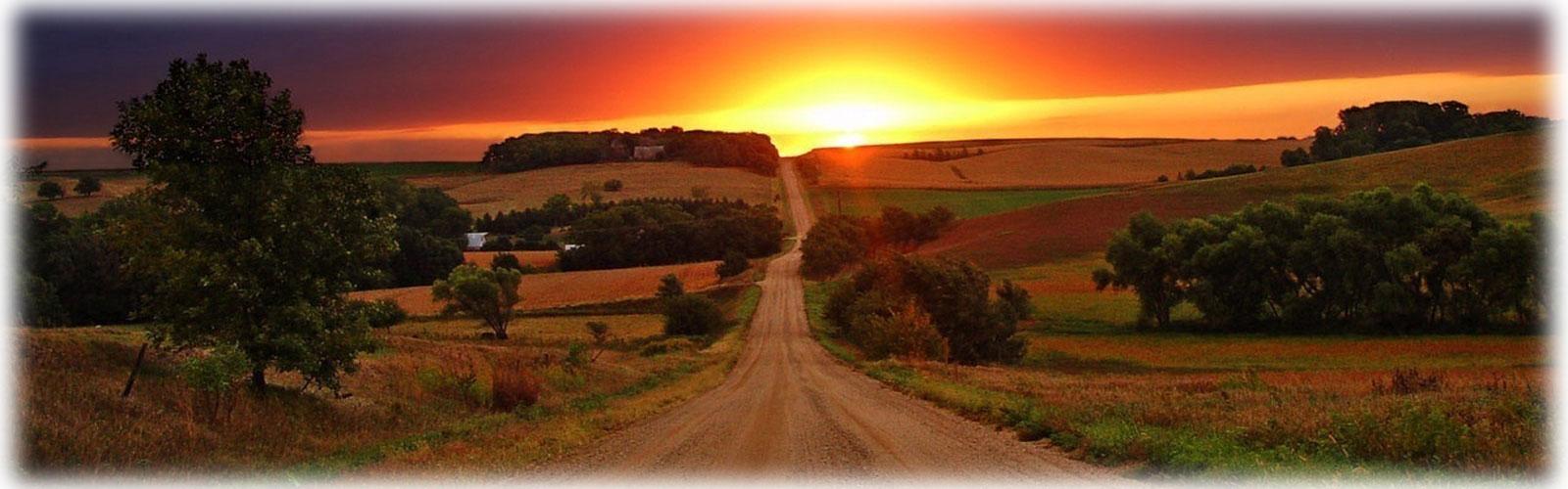 黄昏への道