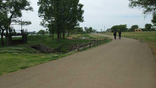 木場潟公園の遊歩道