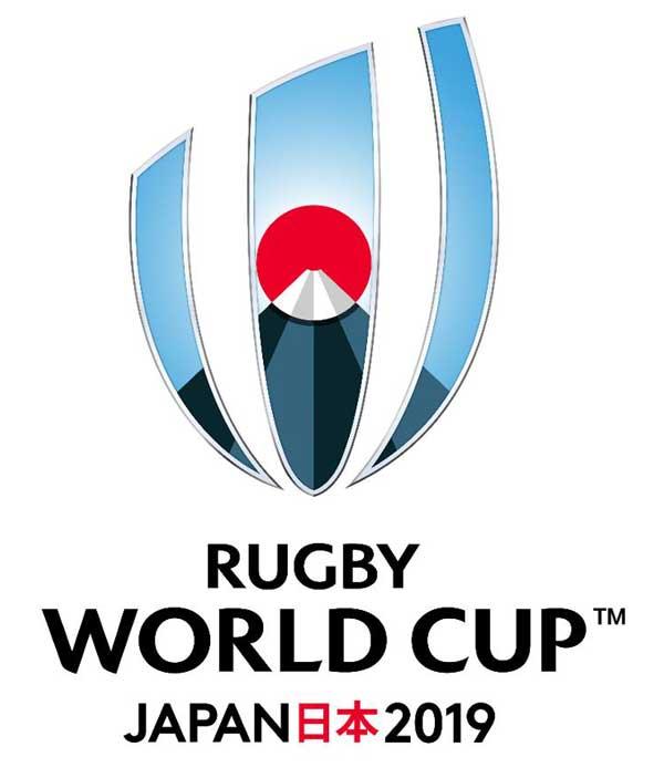 ラグビーワールドカップ2019のロゴ